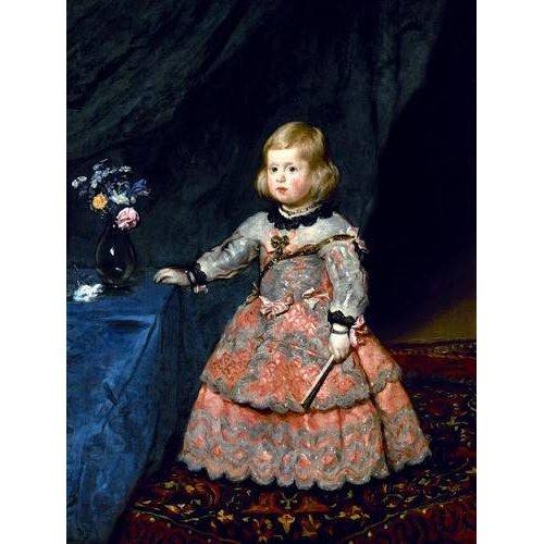 Cuadro -Retrato de la Infanta Margarita a la edad de tres años-