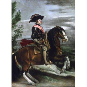 - Cuadro -Felipe IV, Rey de España- - Velazquez, Diego de Silva