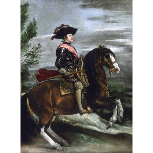 cuadros de retrato - Cuadro -Felipe IV, Rey de España-