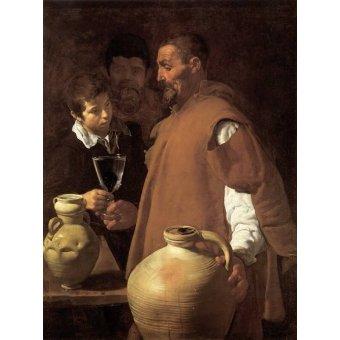 - Cuadro -El aguador de Sevilla- - Velazquez, Diego de Silva