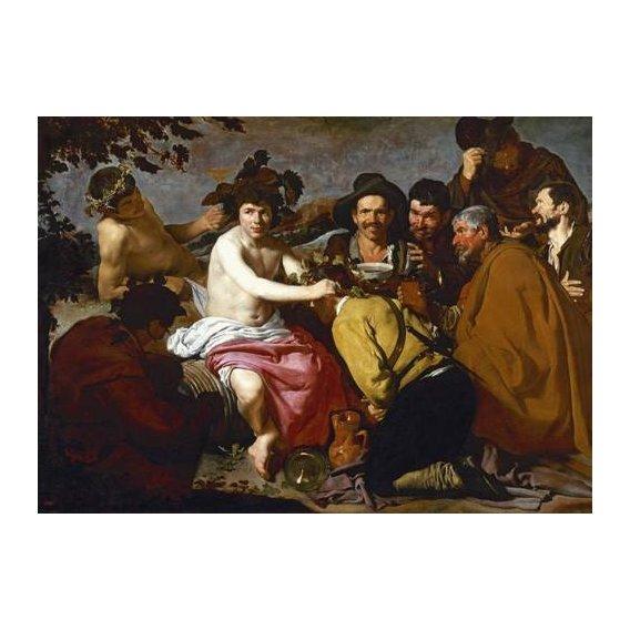 cuadros de retrato - Cuadro -Los borrachos (El triunfo de Baco)-