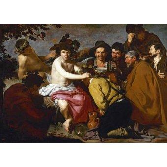- Cuadro -Los borrachos (El triunfo de Baco)- - Velazquez, Diego de Silva