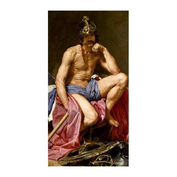 cuadros de retrato - Cuadro -El dios Marte-