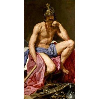 - Cuadro -El dios Marte- - Velazquez, Diego de Silva