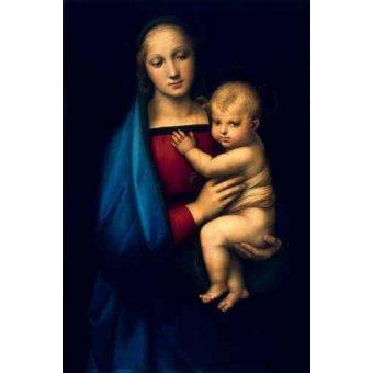 - Cuadro -Madonna del Granduca- - Rafael, Sanzio da Urbino Raffael