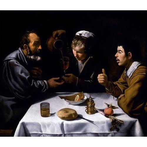 cuadros de retrato - Cuadro -El almuerzo-
