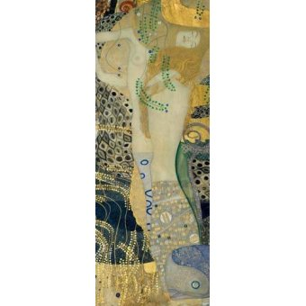 - Cuadro -Serpientes de agua- - Klimt, Gustav