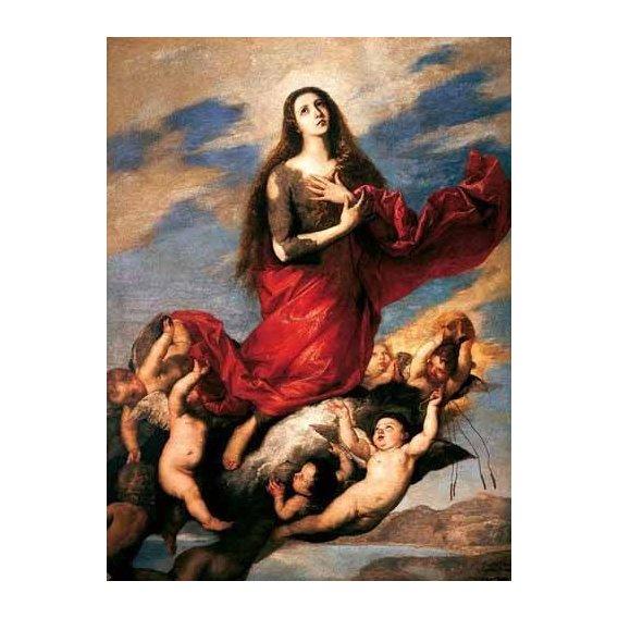 cuadros religiosos - Cuadro -El tránsito de la Magdalena-