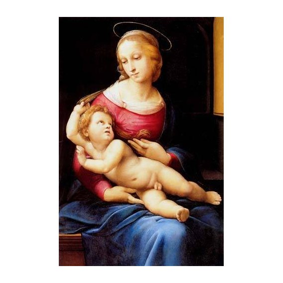 cuadros religiosos - Cuadro -The bridgewater Madonna-