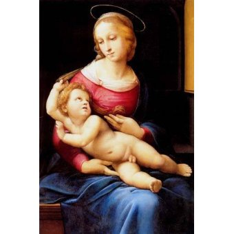 - Cuadro -The bridgewater Madonna- - Rafael, Sanzio da Urbino Raffael