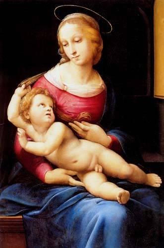 cuadros-religiosos - Cuadro -The bridgewater Madonna- - Rafael, Sanzio da Urbino Raffael