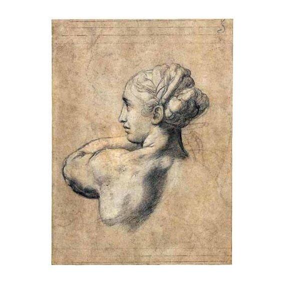 cuadros de retrato - Cuadro -Head_of_a_Woman-