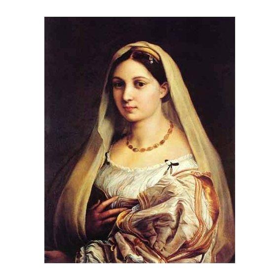 cuadros de retrato - Cuadro -Mujer con velo-
