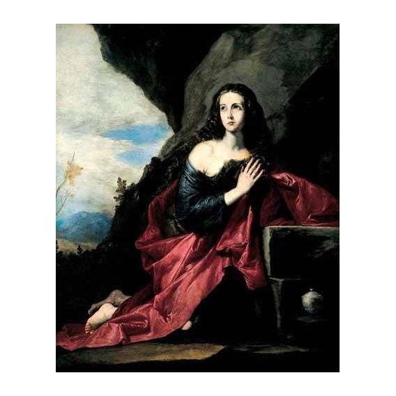 cuadros religiosos - Cuadro -Maria Magdalena, Penitente-