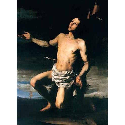 cuadros religiosos - Cuadro -San Sebastián-