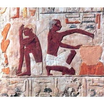 - Cuadro -Elaboración del pan, 2500-2300 a.C.- - _Anónimo Egipcio