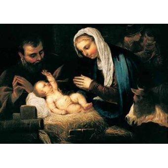 - Cuadro -La Sagrada Familia- - Tintoretto, Jacopo Robusti