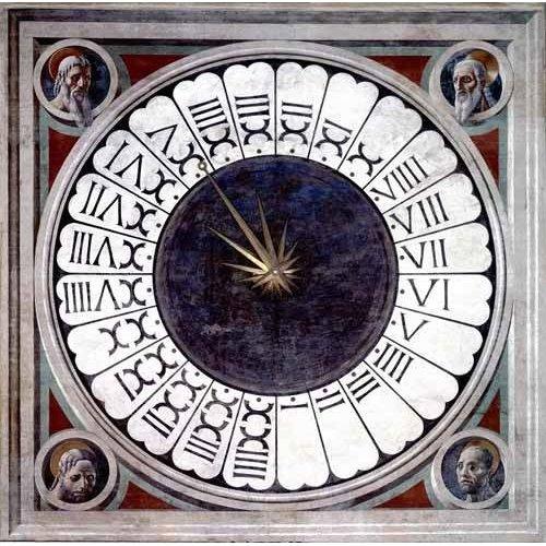 cuadros religiosos - Cuadro -Reloj Canónico-