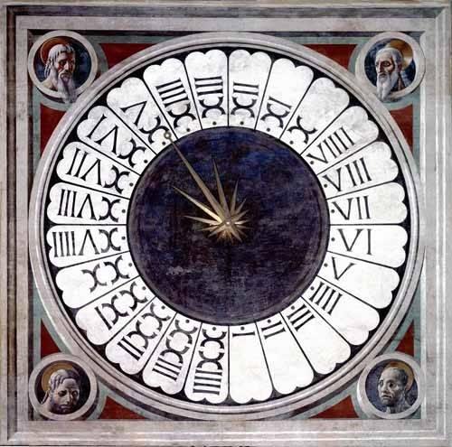 cuadros-religiosos - Cuadro -Reloj Canónico- - Uccello, Paolo