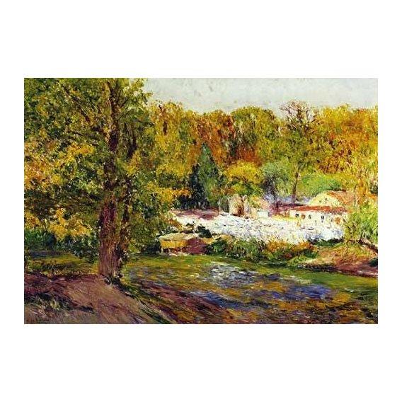 cuadros de paisajes - Cuadro -Paisaje - Madrid-