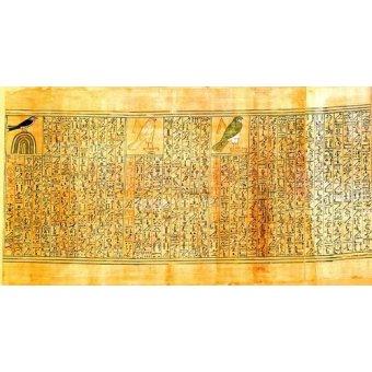 - Cuadro -Libro de los muertos (de Ani): Ani como diferentes aves- - _Anónimo Egipcio