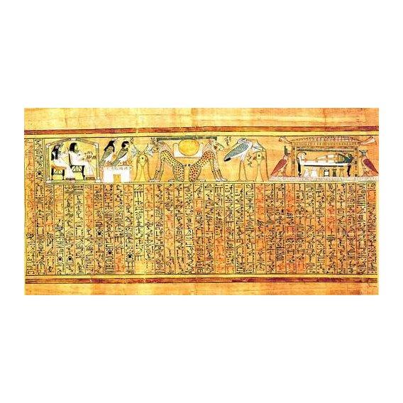 cuadros etnicos y oriente - Cuadro -Libro de los muertos (de Ani): Ayer y hoy-