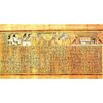 - Cuadro -Libro de los muertos (de Ani): Ayer y hoy- - _Anónimo Egipcio