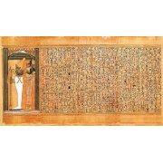 Cuadro -Libro de los muertos (de Ani): Osiris e Isis-