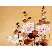Cuadro -Flores blancas-