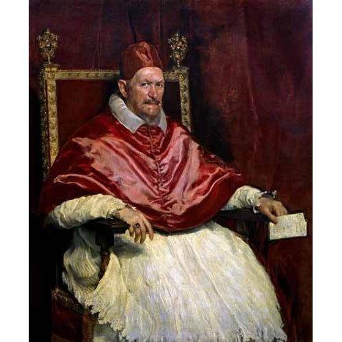 cuadros religiosos - Cuadro -Retrato del Papa Inocencio-