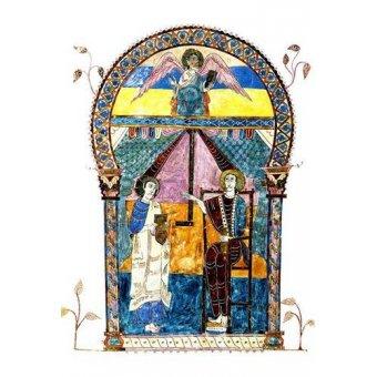 cuadros religiosos - Cuadro -Beato de Liébana, codice de Gerona- - _Anónimo Español