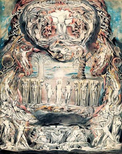 cuadros-de-retrato - Cuadro -Juicio Final- - Blake, William