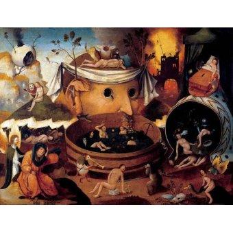 - Cuadro -La vision de Tondal- - Bosco, El (Hieronymus Bosch)