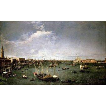 - Cuadro -La dársena de San Marcos- - Canaletto, Giovanni A. Canal