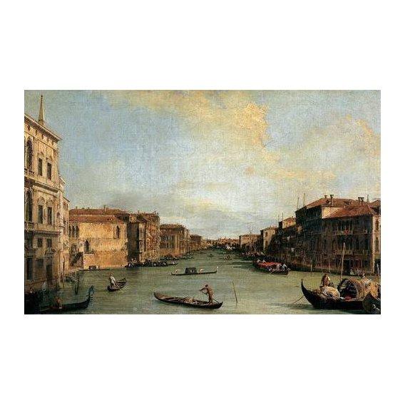 cuadros de paisajes - Cuadro -Canal Grande en Rialto-