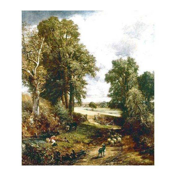cuadros de paisajes - Cuadro -El campo de maiz-