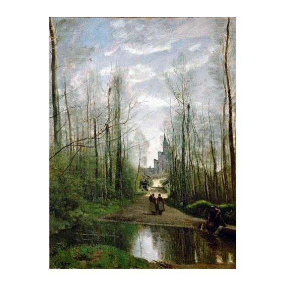 cuadros de paisajes - Cuadro -L'église de Marissel-