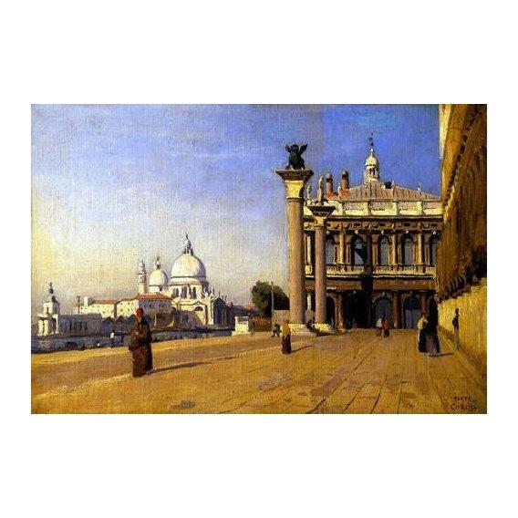 cuadros de paisajes - Cuadro -La mañana en Venecia-