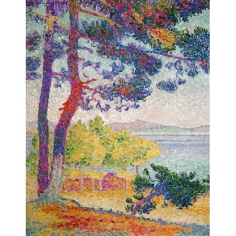 - Cuadro -Afternoon at Pardigon, 1907- - Cross, Henri Edmond