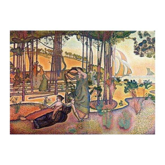 cuadros de paisajes - Cuadro -L'Air du Soir-