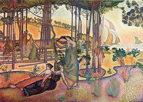 cuadros-de-paisajes - Cuadro -L'Air du Soir- - Cross, Henri Edmond