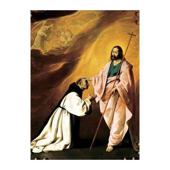 cuadros religiosos - Cuadro -Aparición de Cristo al Padre Salmerón-