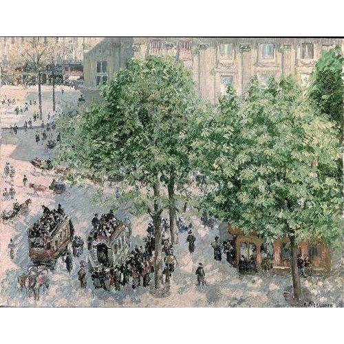 Cuadro -Place du Theatre-Francais, Spring, 1898-