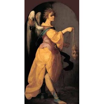 cuadros religiosos - Cuadro -Angel Turiferario- - Zurbaran, Francisco de
