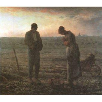 - Cuadro -El Angelus, 1857-1859- - Millet, Jean François