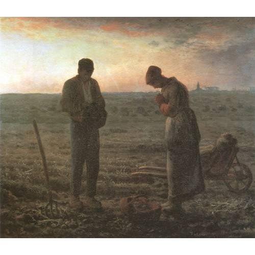 Cuadro -El Angelus, 1857-1859-