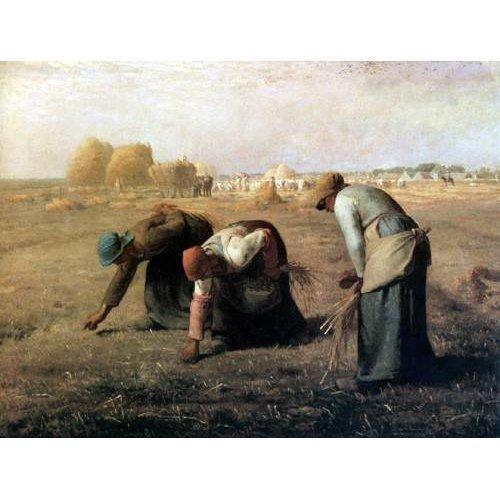 cuadros de paisajes - Cuadro -Des Glaneuses, 1857-