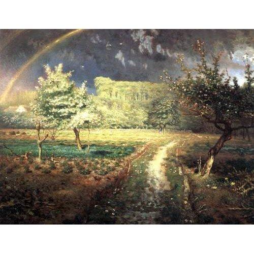 cuadros de paisajes - Cuadro -Le Printemps, 1868-1873-