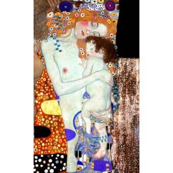 - Cuadro -Las tres edades de la vida (detalle)- - Klimt, Gustav