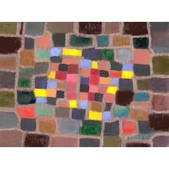 - Cuadro -Abstracto _ Laberinto y desnivel (I)- - Molsan, E.
